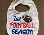 Baby's First Bib - 1st Football Season
