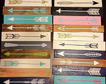 Arrows, different colors and styles