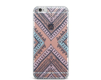 iPhone 7 case, iPhone 6s case, Clear iPhone 7 case, iPhone 6 clear case, iPhone 6s clear case, Clear iPhone 6s case, tribal