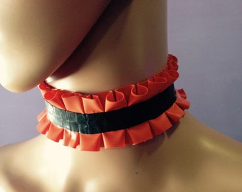 Small latex choker