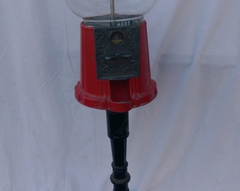 Vintage Re-pop Bubble Gum Machine on a Stand *** PICK UP ONLY ***