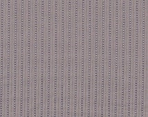 Fabric 1 YARD: Light Grey with Stripes - Lecien Fabrics - Mrs March Collection in Antique