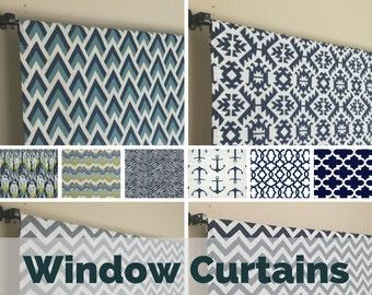 Window Curtains - Designer Window Curtains - Window Curtains for Living Room - Window Curtain