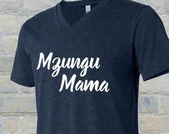 Mzungu mama, Mzungu mama tshirt, adoption, African adoption, adoption tshirt, adoption shirt