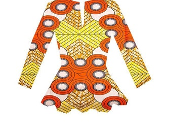 African Clothing, Africa  print Shirt. S A L E!!