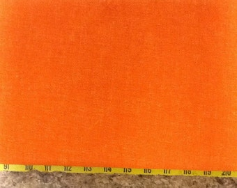 no. 1019 Orange Cool Weave Fabric by the Yard
