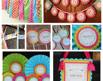 Sunshine Baby Shower Favor Tags Party Decor Decorations By