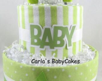 Diaper Cake Bassinet Baby Shower gift Baby Diaper Cake