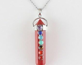 Red Jasper Chakra Pendant