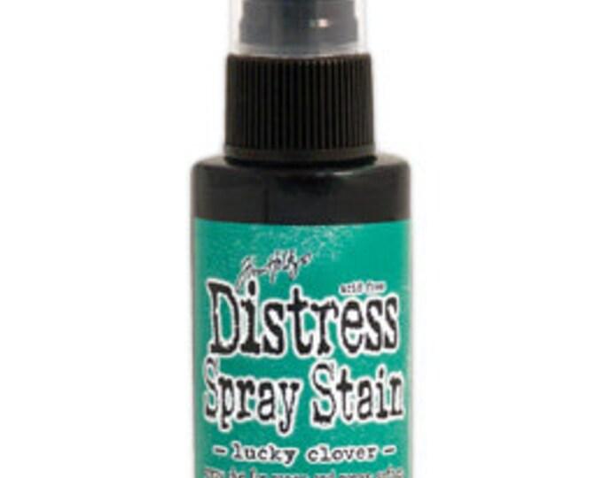 Tim Holtz Green Distress Spray Stain - Lucky Clover - November 2015