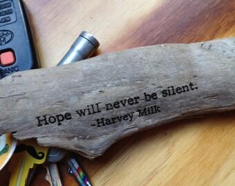 Harvey Milk - Hope will never be silent