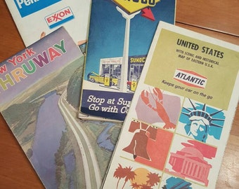 1964-65  New York World's Fair Map.....plus MORE, Maps, Road maps, Ephemera
