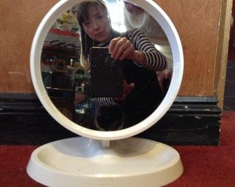 Freestanding Retro Mirror