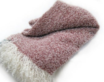 Wool & Angora Mohair Blankets, Beautiful Oversize King / Queen, Luxurious Blend All Natural