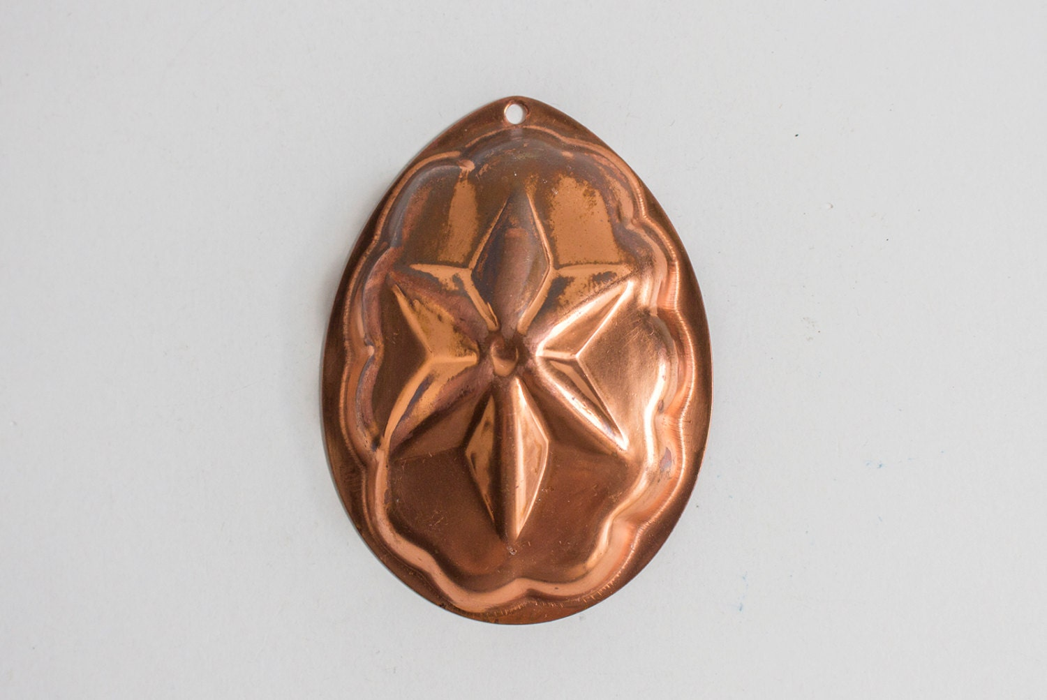 Vintage Copper Jelly Mold