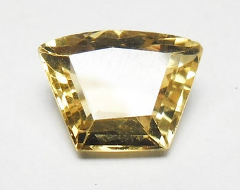 Beautiful faceted citrine (E2510)