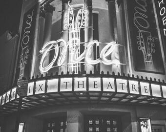 London Photography, London, England, UK, Phoenix Theatre, Once, show, London wall art, London decor, London theatre photo
