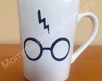 Lightning bolt scar Mug