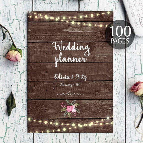 printable wedding planner instant download wedding by
