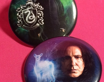 SEVERUS SNAPE - HP button or magnet