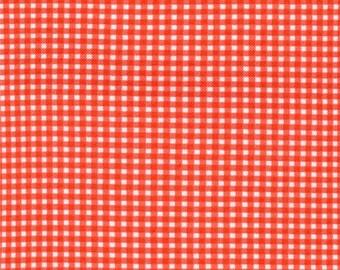 Michael Miller Fabrics - Tiny Gingham Fire - CX4834-FIRE-D