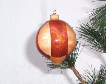 Turned Wood Ornament #6