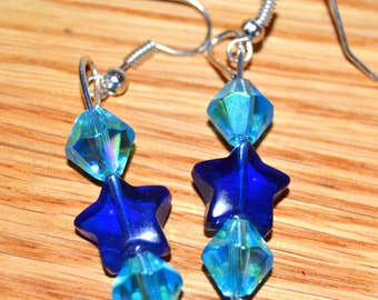 Twinkle twinkle bluestar earrings