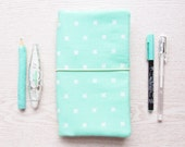 Mint Traveler's Notebook