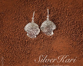 Lagotto Romagnolo, earrings on handmade wires