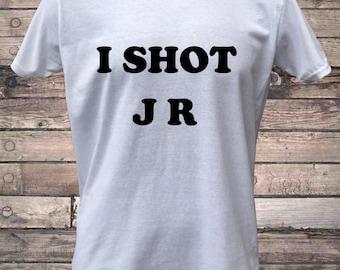 I Shot JR Retro TV T-Shirt