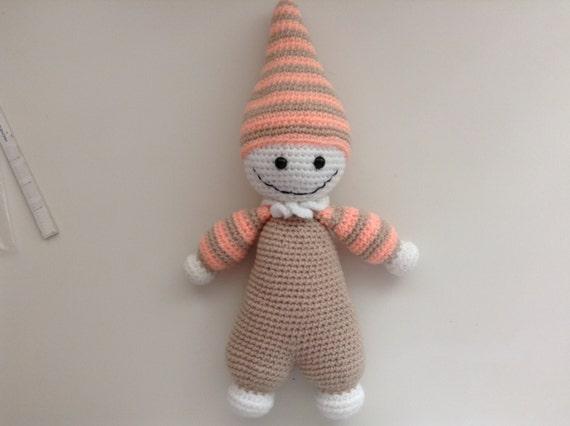 Amigurumi Cuddly Baby : Amigurumi Crochet Cuddly Baby..... Great Gift for