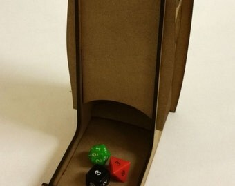 Dice Tower for Wargaming, role-playing, Warhammer, Space Marines, Dungeons And Dragons