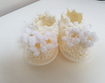 Baby Booties - Christening Booties, Shoes