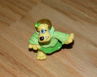Pound Puppies Tonka Vintage PVC Figure Mini Puppy TV Character Action figure Dog puppy Miniature