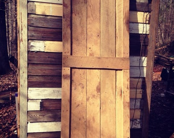 Barn Door made from Vintage Reclaimed Wood