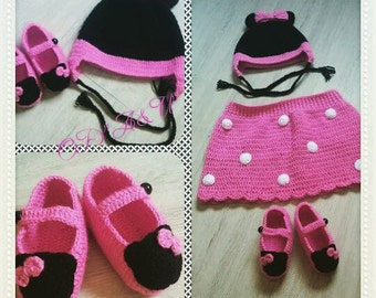 Minnie Mouse set for girls