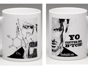 Breaking Bad - Walt and Jesse Mug - 11 oz - Perfect Gift!