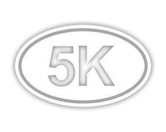 5K Running decal