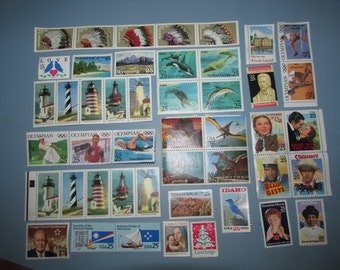 Lot of 1990 US Stamps