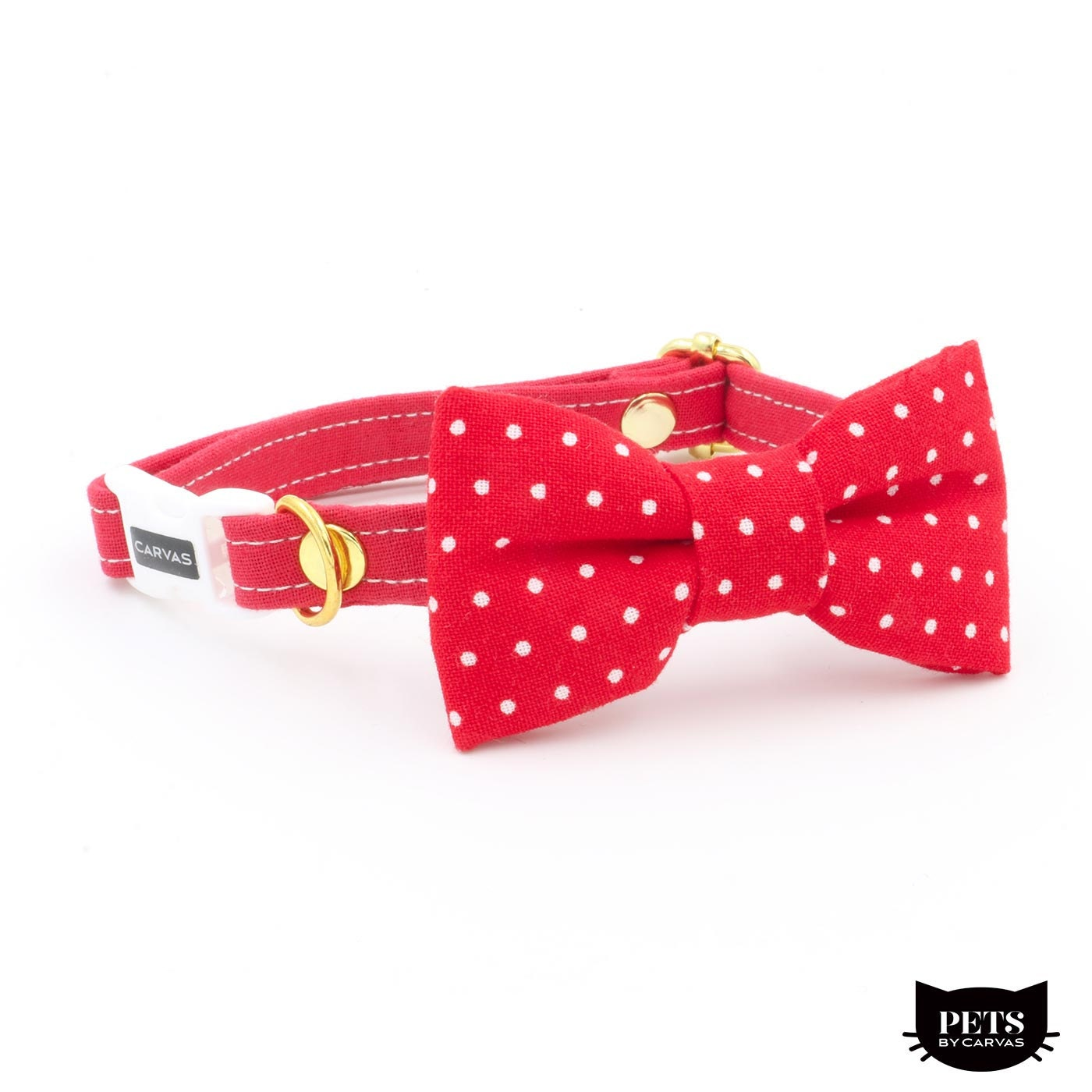 timothy cat collar bow tie set with breakaway safety buckle