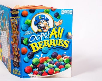 Oops!  It's a Cereal Box Book!