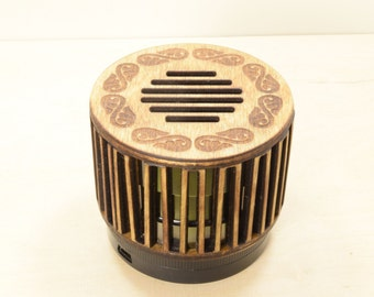 Portable Bluetooth Speaker - Wooden Speaker - Retro / Vintage Style