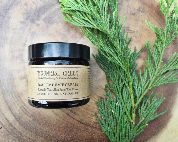 Day Time Moisturizing Face Cream • Rebuild Your Skin From The Roots • Natural SPF 10-15