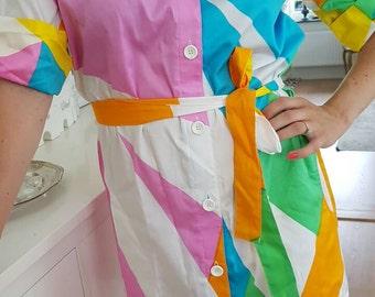 Marimekko vintage Tent dress Miika Pironnen  . Finish vintage clothing. Sized S and M EU /  8 and 10 US