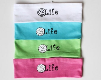 Volleyball Headband, Volleyball is Life, Team Gifts