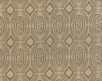 Black Tie Affair Woven Vine Tan by Basic Grey for Moda, 1/2 yard, 30426 14