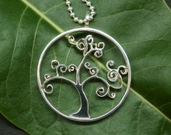 Tree of Life in silver