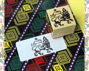 LION OF JUDAH[drs]Rasta Reggae Stamp