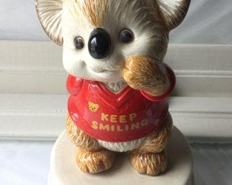 Vintage Otagiri Koala Musical Box
