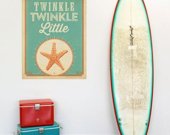 Twinkle Little Starfish Wall Decal - #55489